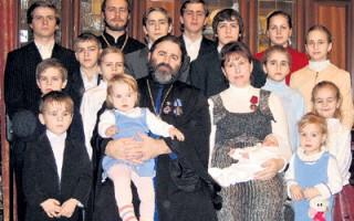 Osamnestoro djece protojereja Jovana