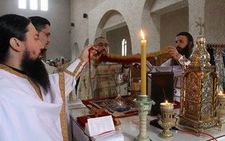 Литургијско сабрање у манастиру Клисина