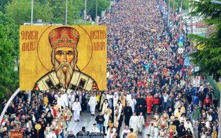 Литија и молебан за браћу у Црној Гори!