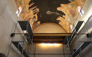 Наставак фрескописања Храма у манастиру Клисина