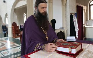 ЛИТУРГИЈА ПРЕЂЕОСВЕЋЕНИХ ДАРОВА У МАНАСТИРУ КЛИСИНА