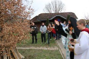 Бадњи дан у манастиру Клисина