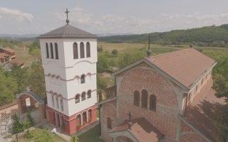 Manastir Klisina - iz drona